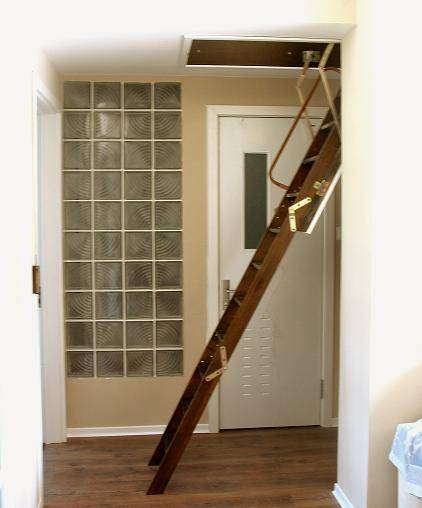 阁楼楼梯装修效果图 坡屋顶
