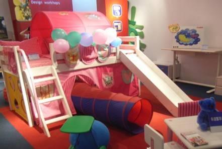 芙莱莎滑梯儿童床