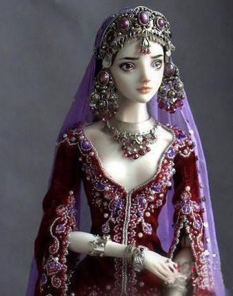 俄罗斯民族风 超萌的芭比娃娃