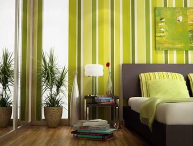 5款卧室窗帘与墙面壁纸经典搭配(组图)