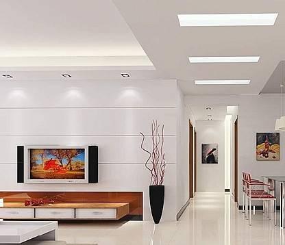 客厅吊顶常用材料的选购施工和验收