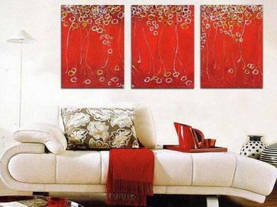 比如现代古典主义的装饰风格,画框制作需大气,与华丽厚重的家具相谐调