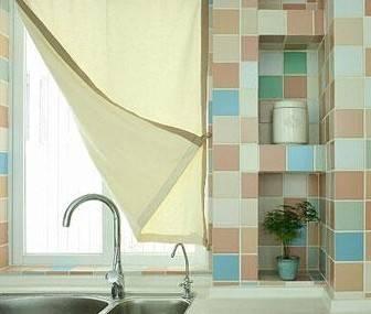 12款好看实用的厨房窗帘推荐及悬挂方法详解(二)