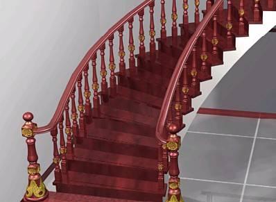中心柱螺旋式楼梯