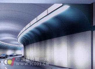 耐火性高 新型涂料成为隧道防火卫士