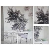 黑白照片风格背景墙