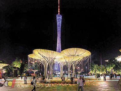 2011广州国际灯光节绚丽开幕
