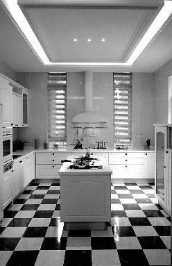 厨房吊顶一直是家装施工中的难点