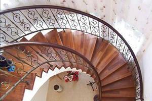 别墅楼梯的不同风情--最优美的弧形梯 - 新闻中