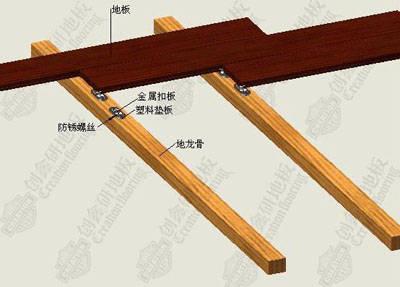 实木地板铺装方法