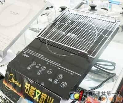 烧烤火锅一机搞定 美的电磁炉新选择(图)    美的远红外线炉mc-h18s