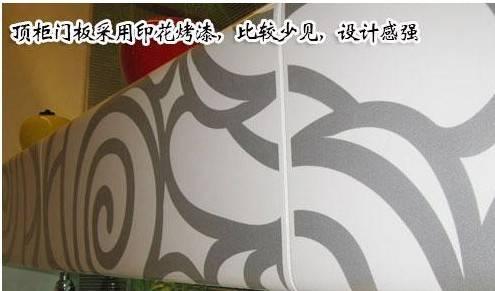 利澳克鲁尼印花烤漆橱柜v橱柜层次分明(3)-设计公司投标书图片