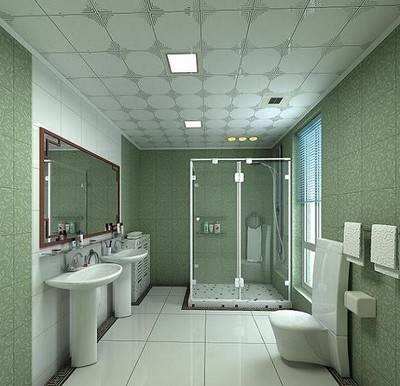 卫浴间集成吊顶设计