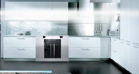 欧式开放式厨房用什么灶具和抽油烟机比较好?图片