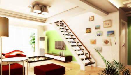 10款復式客廳簡約裝修效果圖