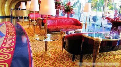 迪拜 阿拉伯塔酒店 自助餐厅