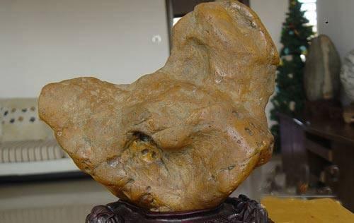 酷似中国地图的奇石在上饶横峰出现