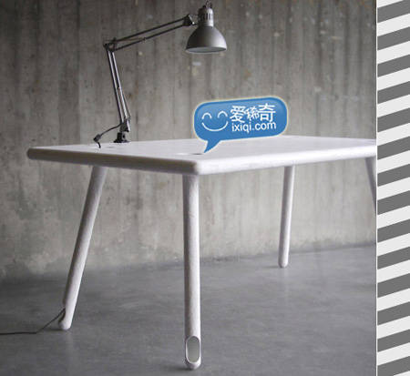空心桌腿和桌腿垃圾桶(图文)