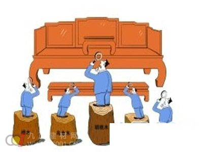 实木家具市场频现材质陷阱 客户难辨真假优劣