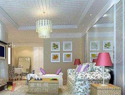 客厅装修效果图大全2013新款图片