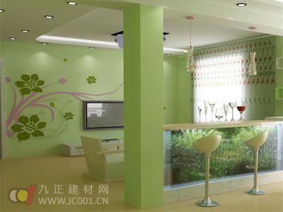 2013年客厅墙纸装修效果图大全