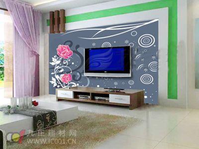 行业知识 幕墙壁纸 2013年客厅墙纸装修效果图大全  2013年客厅墙纸