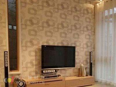2013年电视幕墙壁纸装修效果图