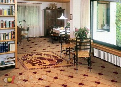 木绘拼花地板悄然流行 产能掣肘企业发展