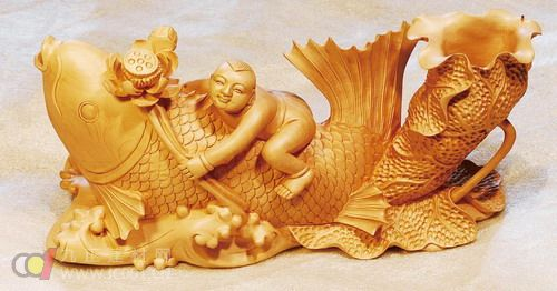 木雕工艺品起源