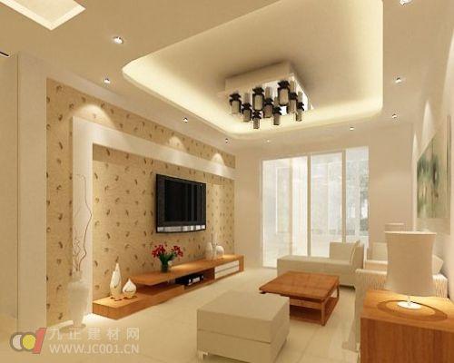 最新最实用的客厅吊顶装修效果图【组图】
