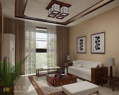 客厅吊顶装修效果图【组图】     有的家居建筑顶面原本四方平整,无主