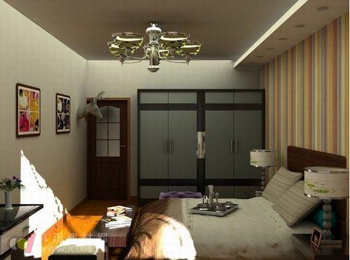 最新小户型卧室装修效果图推荐2013
