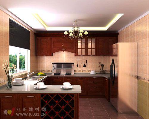 2013开放式厨房装修效果图(大全)