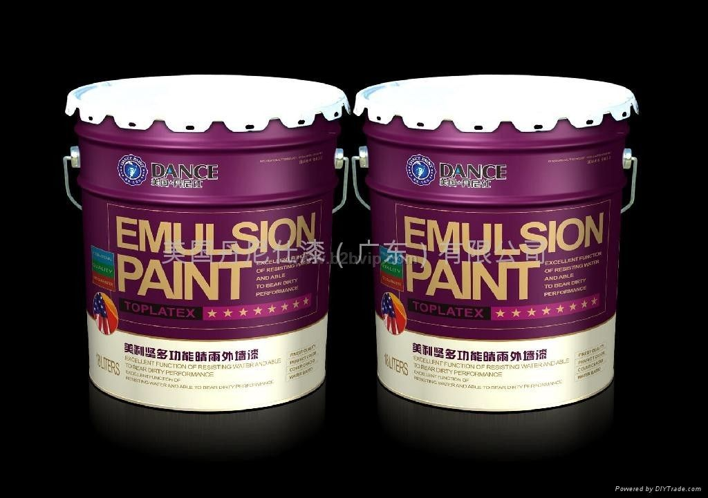 高级耐候外墙乳胶漆 建筑涂料