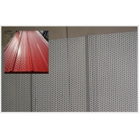 隔音板|优质环保穿孔铝板吸音板|铝板冲孔金属网