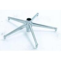 铝合金家具五星脚、办公家具压铸配件、铝合金压铸制造