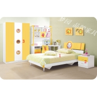 儿童家具/儿童套房/卧室儿童床/儿童房套装/青少年床/梦园家