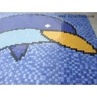 高档泳池拼图-海豚