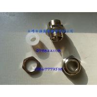 供应pg7硅胶防水电缆接头 m12硅胶黄铜防水接头