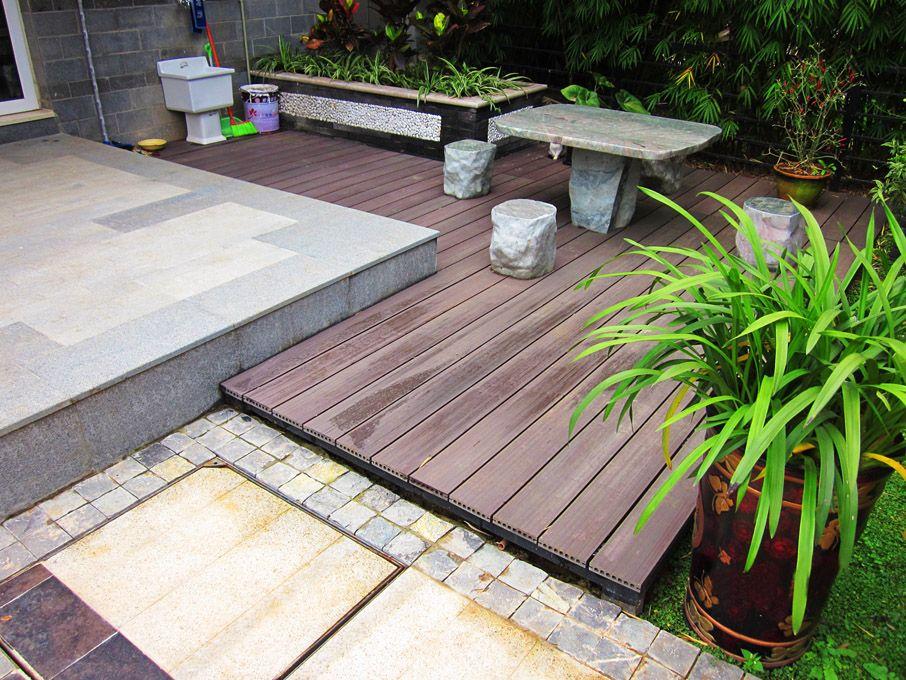 生态木绿可木户外地板地90,120,140地板70浴室地板