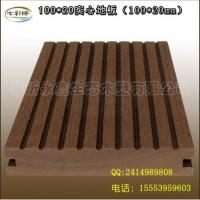 临沂生态木绿可木厂家销售木塑户外地板100*20实心地板