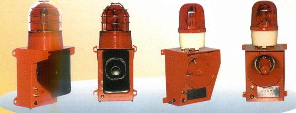 SJ-2红色天车声光报警器