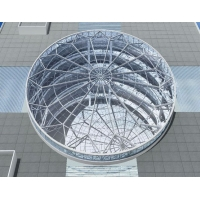 大连钢结构雨棚大连钢结构采光顶大连钢结构厂房设计施工