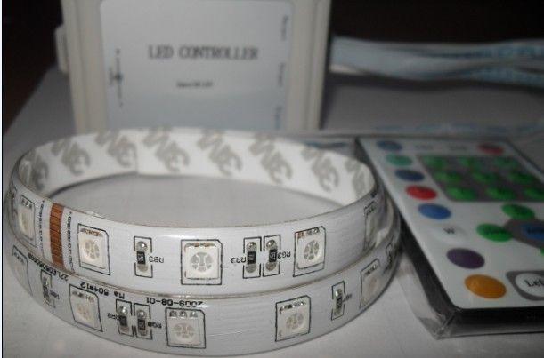 直销LED跑马灯条 5050跑马灯条 54灯每米