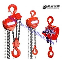 手拉葫芦链条采用优质的合金材料