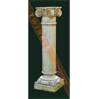 大理石柱子