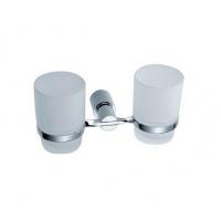 成都东鹏卫浴双架杯 21000系列双架杯 玻璃不锈钢双架杯D