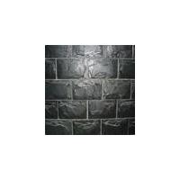 黑色磨菇石