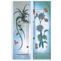 淋浴门玻璃图