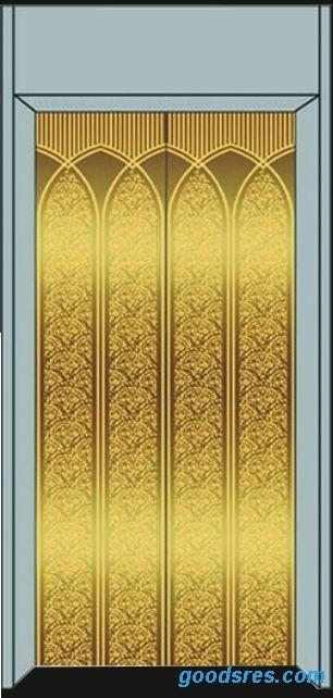 镜面蚀刻花纹电梯轿厢板